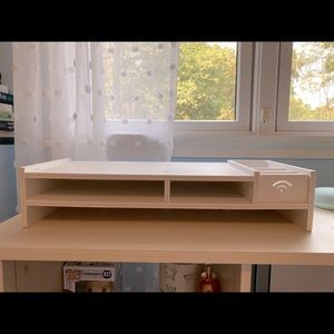 Computer stand and storage